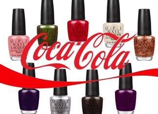 Opi Coca Cola Collezione Smalti Beauty Novità 2014