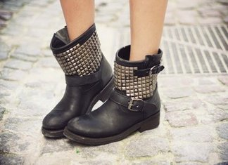 Biker Boots High Low Cost Accessori Scarpe Sportivi Tendenza 2014