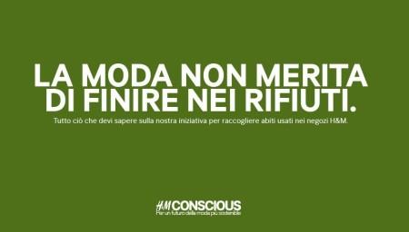 Campagne Riciclo Abiti Usati HM Ovs Intissimi 2014 Negozi