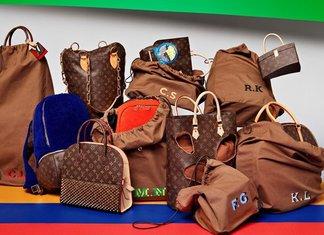 Celebrating Monogram Louis Vuitton Karl Lagerfeld Collezioni Edizione Limitata Omaggio Sei Stilisti Mostra