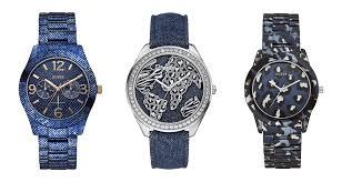Guess Watches Denim Collezione Orologi 2014 Uomo Donna Jeans Cinturini