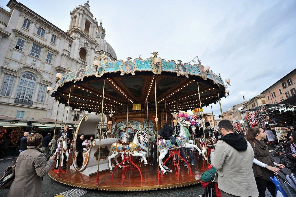 Mercatini Natale Roma Provincia Piazza Navona 2014 Storici