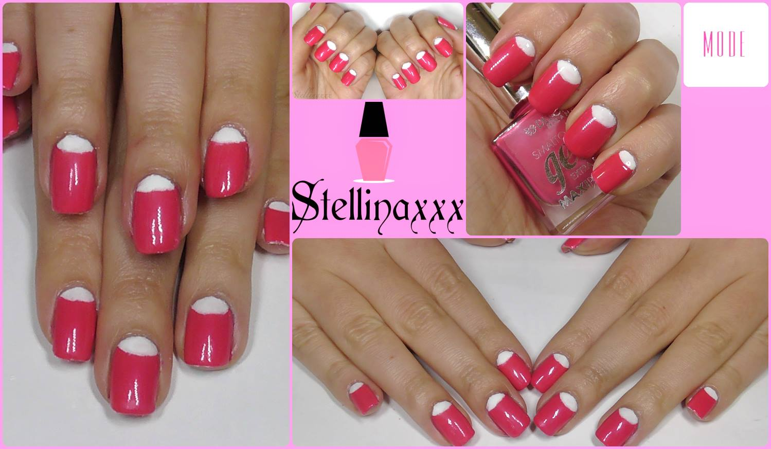 Tutorial Nail Art French Reverse Colori Smalti Mode