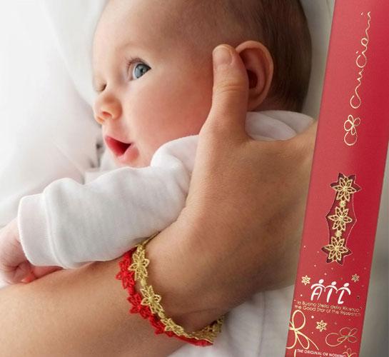 buy online 8f95f 6cd0b Cruciani per AIL, torna il braccialetto con ricamata la ...