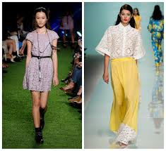 Tendenza Pizzo 2014 Total Look Dettagli Applicati Outfit High Low Cost Zara Blugirl Emanuel Ungaro OVS