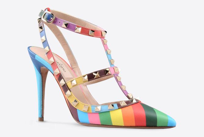 Valentino Scarpe Multicolor