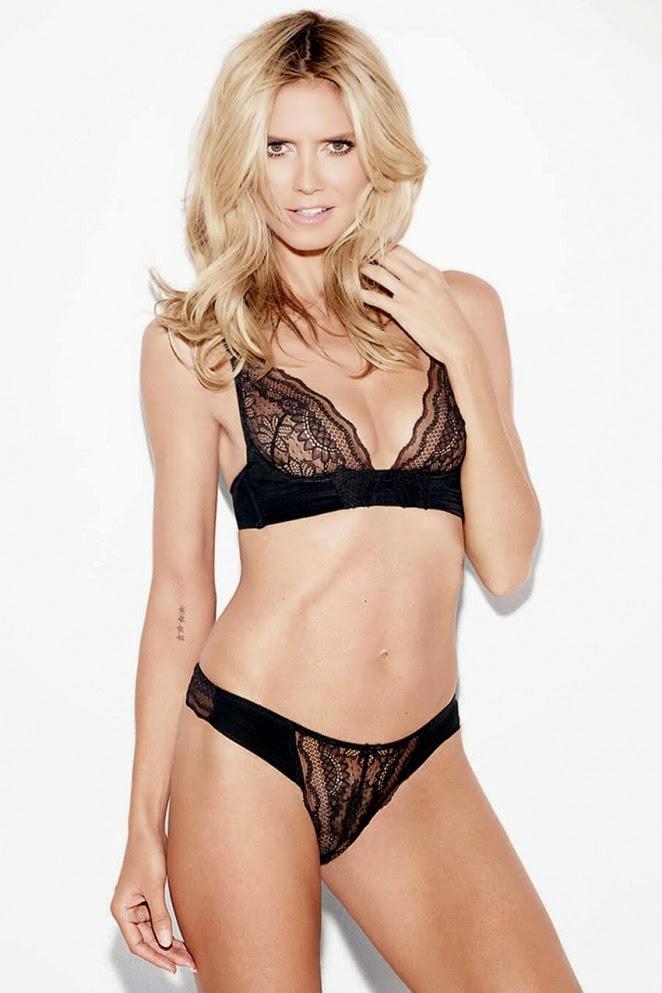 Heidi Klum Intimates Collezione Intimo Lingerie Angelo Victoria's Secret Moda 2015