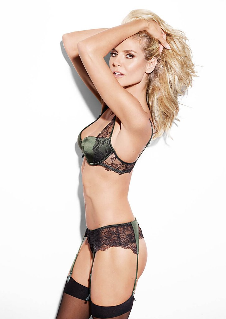 Heidi Klum Intimates Collezione Intimo Lingerie Angelo Victoria's Secret Moda