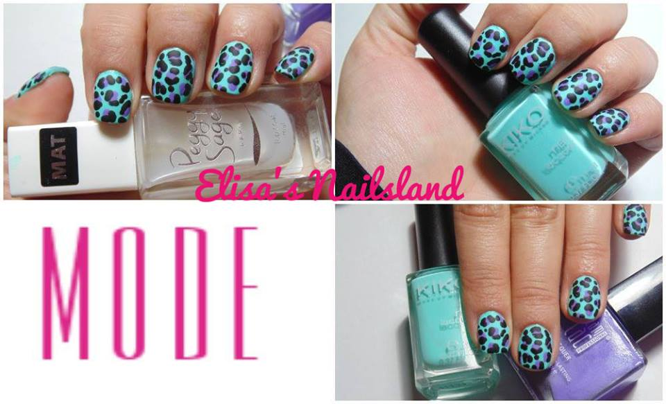 Tutorial Nail Art Animalier Matt Verde Acqua Elisa Colori Smalti