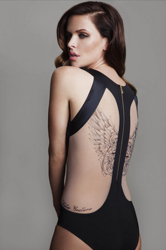 Fashionology AltaRomaAltaModa 2015 Glamour Couture Tatuaggi Tattoo