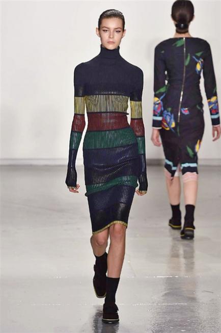 NY Fashion Week 2015 Collezione Autunno Inverno 2016 Abbigliamento Donna Suno