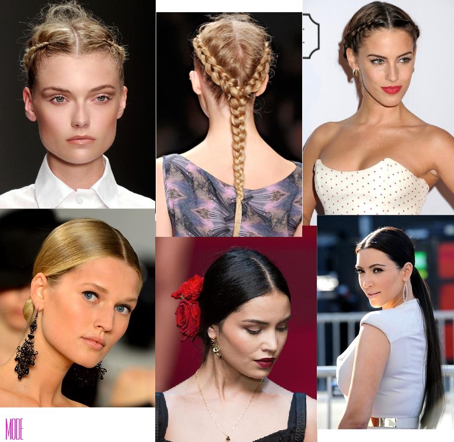 Trend capelli 2015: la riga torna in mezzo - Mode
