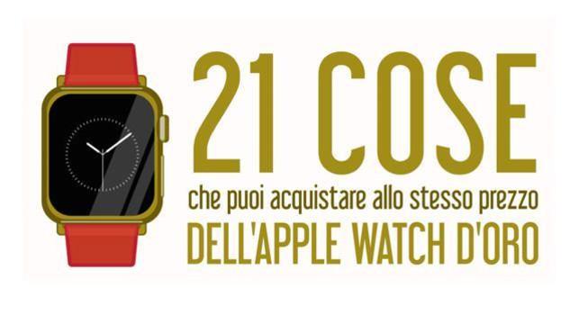 Apple Watch d'oro, cosa si compra con la stessa cifra4