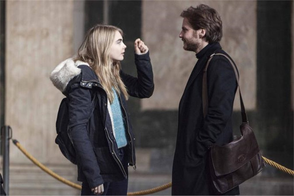 Cara Delevingne Amanda Knox Film The Face of an Angel Protagonista