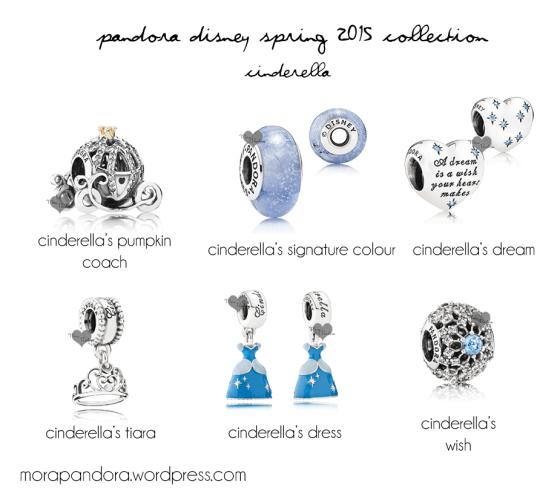 Disney e Pandora, una collezione da vere principesse Frozen Cinderella