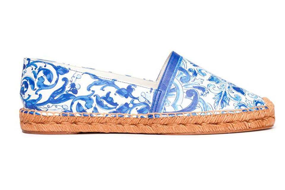 Dolce Gabbana Maiolica Collezione Accessori Borse Scarpe Primavera Estate  2015 Espadrillas ... 0e3383328c5