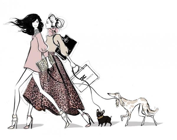 Elisabetta Franchi Loves Dogs Collezione Per Cani Dog Friendly Collarini Guinzagli