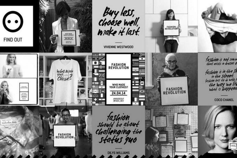 Fashion Revolution Day Hashtag Who Made Your Clothes Rana Plaza Bangladesh Tragedia Tessile Evento