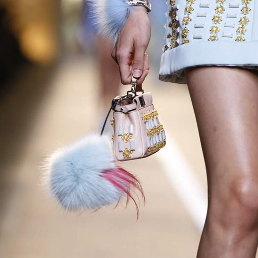 Fendi Micro Mini Bag Tutto Esaurito Sold Out Giornata 2015