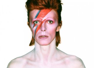 Gas Per David Bowie T-Shirt Limited Edition Mostra Bologna Heroes Album