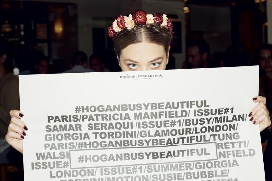 Hogan Busy Beautiful Hashtag Campagna Progetto Sette Donne Belle Impegni Vita Blogger