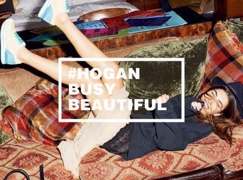 Hogan Busy Beautiful Hashtag Campagna Progetto Sette Donne Belle Impegni Vita