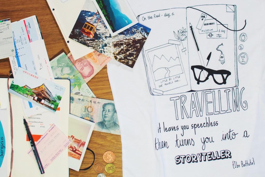 Ink Your Travel, arrivano le t-shirt dei viaggiatori