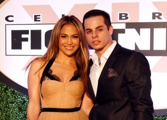 Jennifer Lopez (43 anni) e Casper Smart (24 anni)