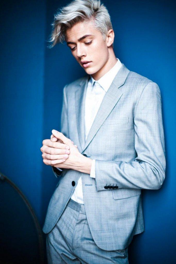 Lucky Blue Smith, il modello mormone del momento