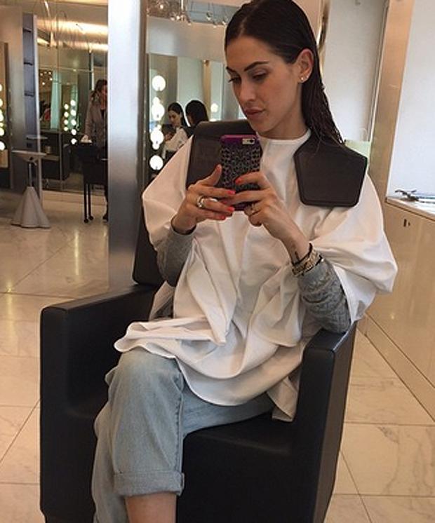 Melissa Satta Cambio Look GoCoppola Hairstylist 2015