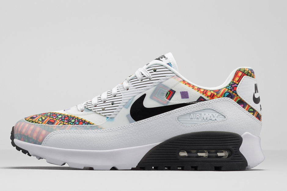 Nike Per Liberty London Collection Scarpe Primavera Estate 2015 Ispirazione Anni Settanta Geometrica Sport