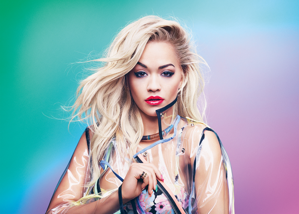 Rita Ora per Rimmel London con Colourfest Collection 2015