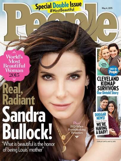 Sandra Bullock People Donna Più Bella Del Mondo Elezione 2015