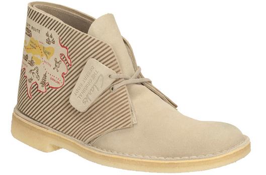 Desert Boot di Clarks realizzato in limited edition.