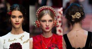 Dolce e Gabbana MFW 2015