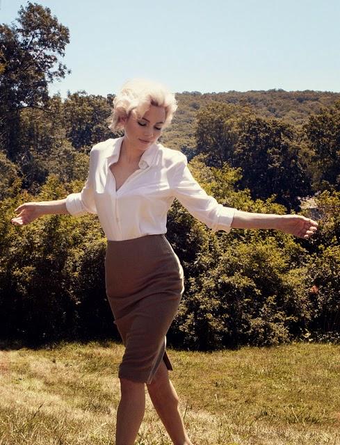 Michelle Williams in Marylin (2011) indossa una Pencil Skirt