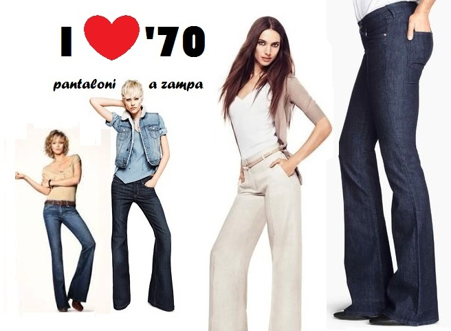 Preferenza Pantaloni a Zampa, tornano di moda gli anni '70 SW18