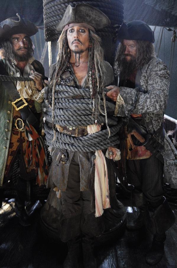 pirati dei caraibi 5 foto twitter