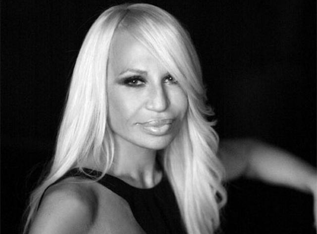 Donatella Versace Testimonial Givenchy Riccardo Tisci Maison Moda Compleanno