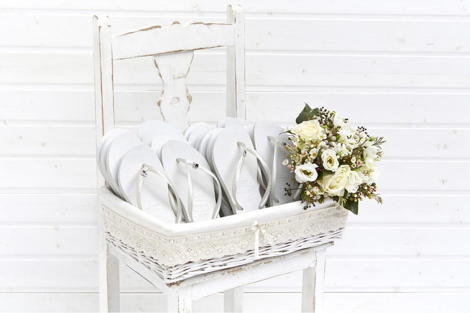 Havaianas Wedding Infradito Matrimonio Bianche Invitati Ospiti