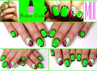 Nail Art Cartoon Fumetto Comic Tutorial Stellina Nails Youtube