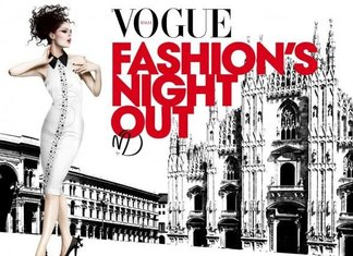 Vogue Fashion Night Out 2015 Milano Date Negozi Notte