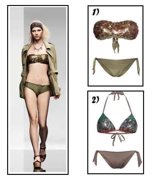 Nuova collezione Beachwear TWIN-SET: Bikini preziosi