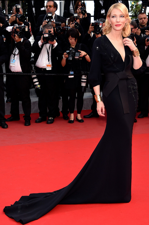Cate Blanchette in Armani