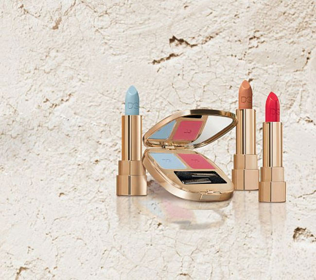 d&g summer shine make up