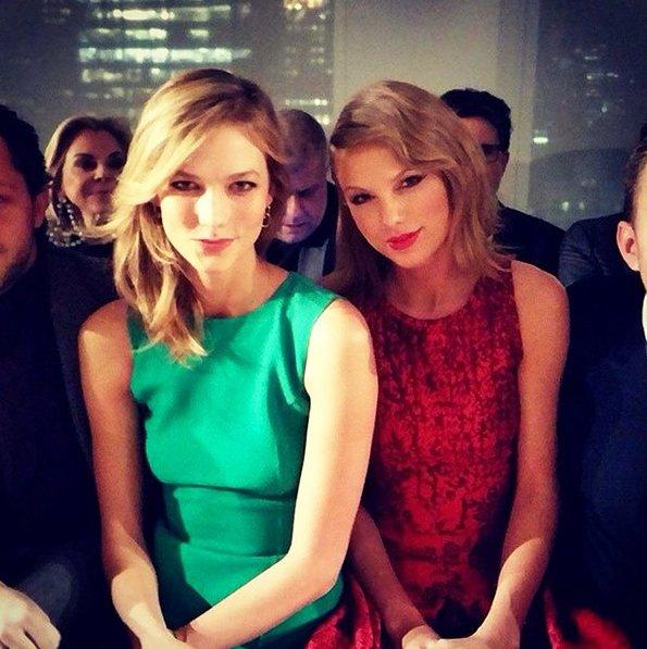 Gigi Hadid e Taylor Swift (Credits: fashionisma.es/Instagram)
