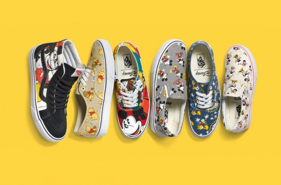 Disney e Vans Young at Heart Collection Shoes