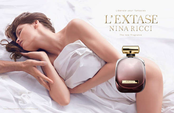 Laetita Casta x Nina Ricci Fragranza Profumo Testimonial Sexy