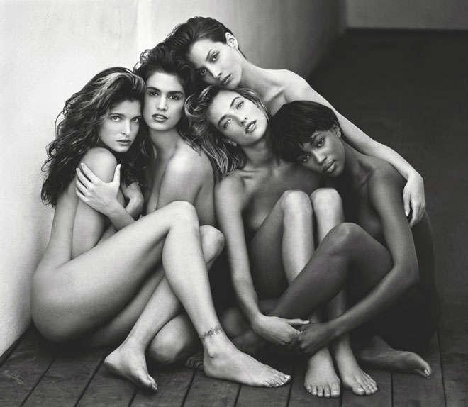 Victoria's Secret Nuovi Angeli Foto Omaggio Bianco Nero Passato