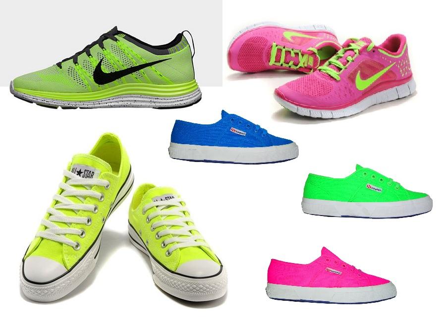 scarpe sportive fluo 2015